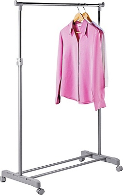 Buy Home Adjustable Chrome Plated Clothes Rail Grey At Argos Co Uk Your Online Shop For