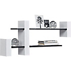 more details on Extendable Shelf Unit - Black and White.