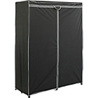 more details on HOME Double Fabric Wardrobe - Black.