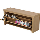 more details on Cuban Shoe Storage Cabinet - Oak Effect.