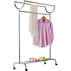 more details on Chrome Plated Clothes Rail - Silver.