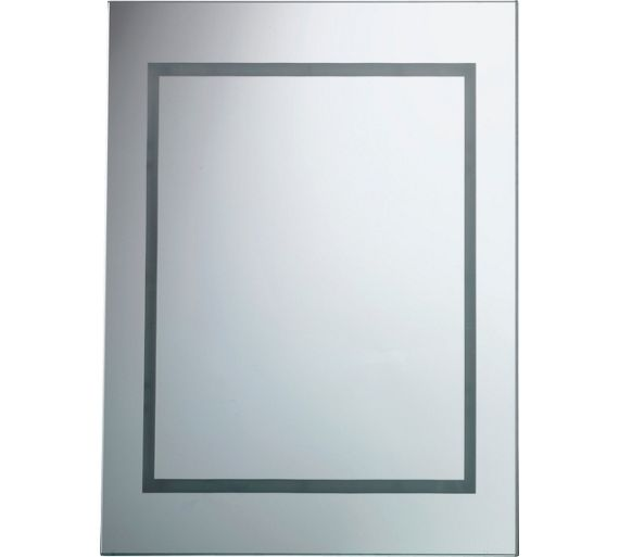 buy home illuminated bathroom mirror at your. Black Bedroom Furniture Sets. Home Design Ideas
