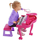 more details on Chad Valley Kids Pink Grand Piano.