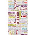 more details on Best Wishes 4 Metre Gift Wrap.