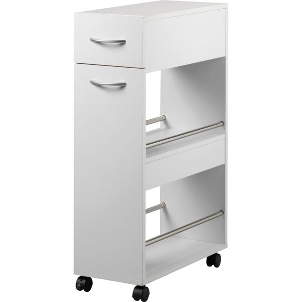 Buy HOME Slim Kitchen Trolley With Drawer At Argos.co.uk