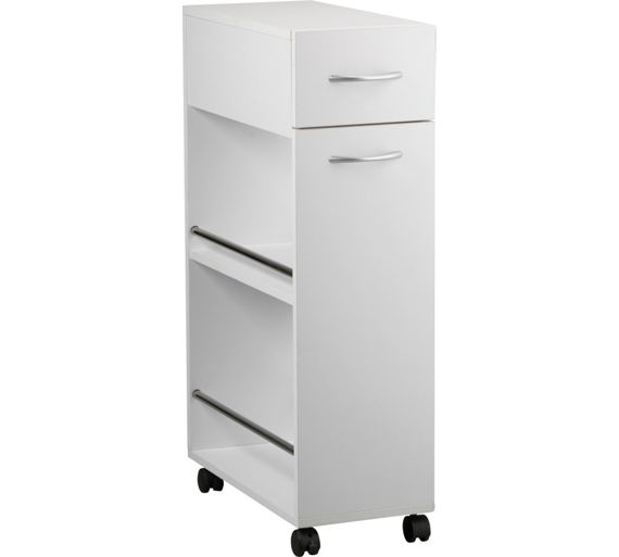 Kitchen Trolley Accessories: Buy HOME Slim Kitchen Trolley With Drawer At Argos.co.uk