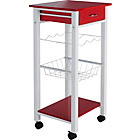 more details on Living Gloss Top Kitchen Trolley.