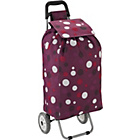 more details on 2 Wheel Spot Shopping Trolley - Purple.