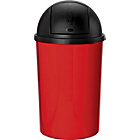 more details on ColourMatch 30 Litre Push Top Kitchen Bin - Poppy Red.