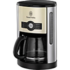 more details on Russell Hobbs 18498 Heritage Filter Coffee Maker - Cream.