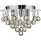 more details on Living Joy Flush Champagne Ceiling Light.