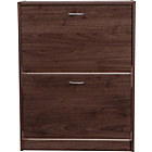 more details on Shoe Storage Cabinet - Walnut Effect.