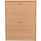 more details on HOME Shoe Storage Cabinet - Beech Effect.