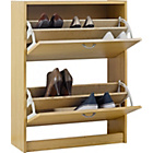 more details on Shoe Storage Cabinet - Oak Effect.