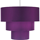 more details on Inspire 3 Tier Light Shade - Plum.