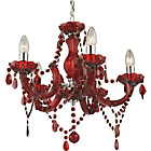 more details on Inspire 5 Light Ruby Red Chandelier.