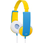 more details on JVC Kids Headphones with Volume Limiter - Yellow and Blue.