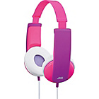 more details on JVC Kids Headphones with Volume Limiter - Pink and Violet.