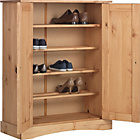 more details on Collection Puerto Rico 2 Dr Shoe Cabinet-Solid Antique Pine.