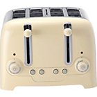 more details on Dualit 46201 4 Slice Stainless Steel Toaster - Cream.