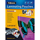 more details on Fellowes Laminating Pouches A4 80mic 100 Pack.