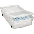 more details on HOME 50 Litre Wheeled Plastic Underbed Storage Box with Lid.