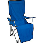 more details on Folding Camping Lounger with Retractable Footrest.