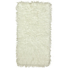 more details on Faux Flokati Rug - 100 x 75cm - Natural.
