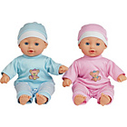 more details on Chad Valley Babies to Love Talking Twin Dolls.