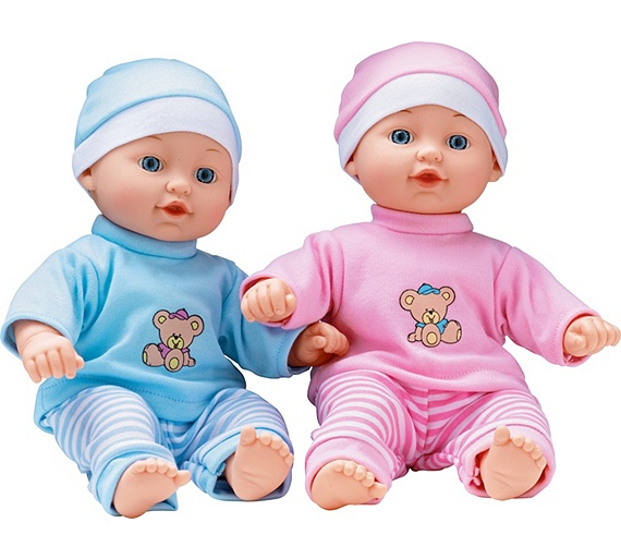 Buy Chad Valley Babies to Love Talking Twin Dolls at Argos ...