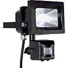 more details on Energy Saving High Power Black LED PIR Flood Light - 10W.