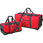 more details on Go Explore 2 Piece Wheeled Holdall Set - Red.