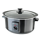 more details on Morphy Richards 48703 3.5L Aluminium Slow Cooker - Black.