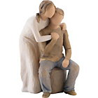 more details on Willow Tree Figurine - You and Me.