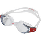more details on Speedo Adult Futura Biofuse Goggle - Clear/Clear.