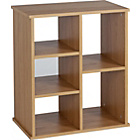 more details on 2 Shelf Storage Unit to hold 3 Baskets - Oak Effect.