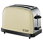 more details on Russell Hobbs Colours 18953 2 Slice Toaster - Cream.
