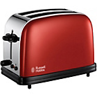 more details on Russell Hobbs Colours 18951 2 Slice Toaster - Red.