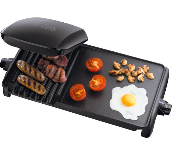 Buy george foreman 18603 10 portion grill griddle at your online shop for health - Buy george foreman grill ...