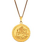 more details on 9ct Gold Plated Sterling Silver St. Christopher Pendant.
