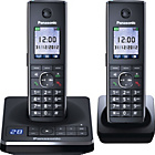 more details on Panasonic KX-TG8562EB Cordless Telephone - Twin.