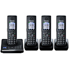 more details on Panasonic KX-TG8564EB Cordless Telephone - Quad.