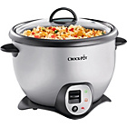 more details on Crock-Pot CKCPRC6040-060 2.2L Saute Rice Cooker - St/Steel.