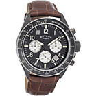 more details on Rotary Men's Brown and Black Chronograph Strap Watch.