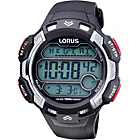 more details on Lorus Men's Black and Red Digital Watch.