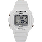 more details on Casio White Unisex LCD Watch.