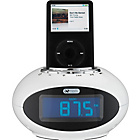 more details on Acoustic Solutions Smartie Clock with Docking Station-White.