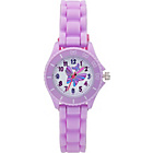more details on Tikkers Girls' Lilac Butterfly Watch Set.