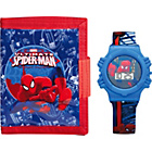 more details on Spider-Man Boys' LCD Watch and Wallet Set.