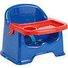 more details on Little Star Chair Booster Seat with Tray - Blue.